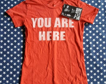 Vintage John Lennon You Are Here T-shirt