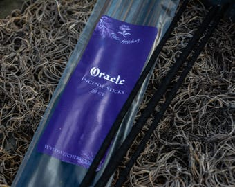 Oracle Incense~For Divination Magick Wild Witchery