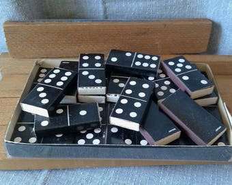 Vintage Domino matchboxes with matches set of 28 made in Japan
