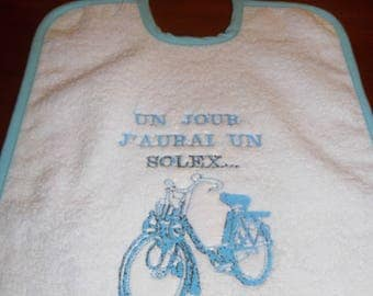 BIB EMBROIDERED GIFT ORIGINAL CREATION