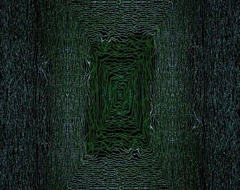 Signed Limited Print of 10 - 'Matrix Tablet' - Digital Print