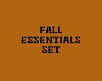 Fall Essential Set
