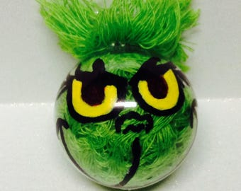 Grinch Holiday Ornament