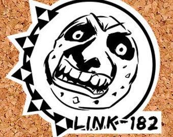Link-182 Sticker / Blink-182 / Majoras Mask