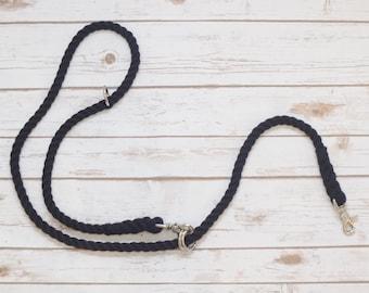 Custom Rope Adjustable Dog Leash: Multi-functional Rope Dog Leash