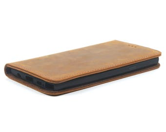 iPhone 5 - 5s -SE Wallet Case -Handmade Genuine Leather