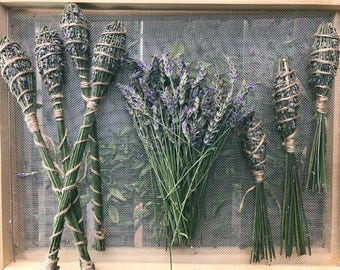 Lavender wands, woven lavender, home decor, aromatherapy, hygge, provence, summer, home perfume, deodorant, fragrance