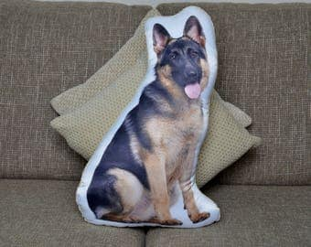 Adorable German Shepherd Shape Cushion