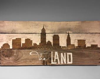 """The Land city skyline """"Cleveland"""""""