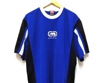 Hot Sale!!! Rare Vintage 90s ECKO UNLTD Embroidery Big Logo Jersey Hip Hop Skate Swag Extra Large Size