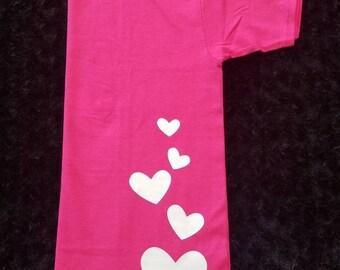 T-shirt - Upward Hearts