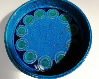 Bitossi Bowl by Aldo Londi Ikano decor 70's