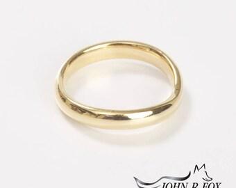 Chubbie Wavy Wedding Ring, Heavy. John Fox