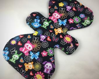 "Skelanimals - 9.5"" inch - 3L - Reusable Cloth Pad"