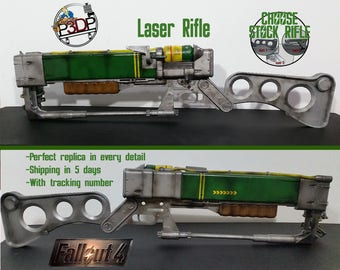 Laser Rifle Fallout 4 Replica AER9 with micro fusion cell removal ***high quality***