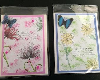 Handmade Birthday Greeting Cards