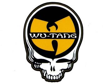 Wu Tang Stealie - Steal Your Face Grateful Dead Sticker