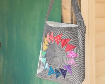 Easy Market Tote Kit featuring True Colors by Tula Pink