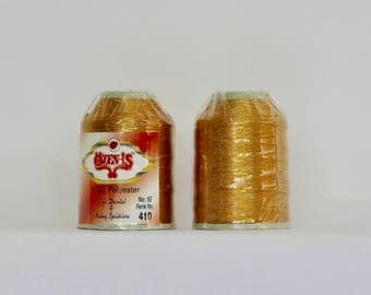 oya Turkish lace crochet polyester no50 thread color 410 Özen Is for crochet needle no 21 / 0,55 - 20 gr