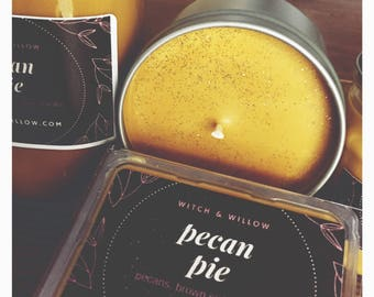 PECAN PIE Soy Wax Melt Handmade Witch & Willow