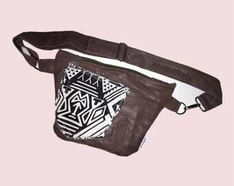Leather beltbag, fanny pack, belt bag leather, festival belt, belly bag, waist bag, belt, bag, pocket belt hipbag, bum bag