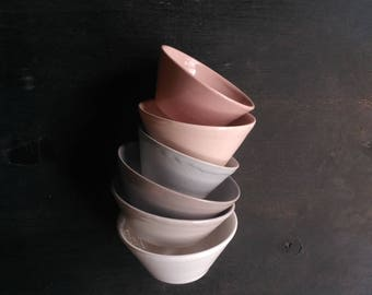 Dessert bowls set | ceramic pialats set