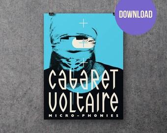 Cabaret Voltaire Micro-Phonies Ferris Bueller Poster Download