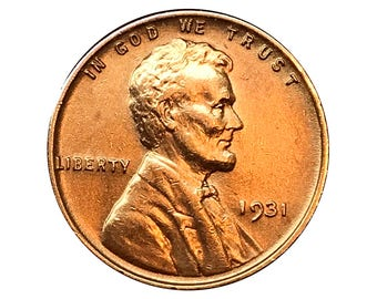 1931 P Lincoln Wheat Cent - Choice BU / MS / Unc