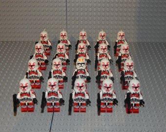 20 mini figurines Star Wars clone Stormtroopers, new + + +