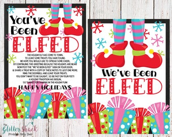 Unusual image throughout you've been elfed printable