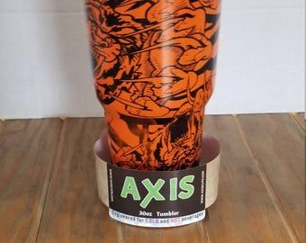 30oz Axis Custom Crazy Tiger Tumbler