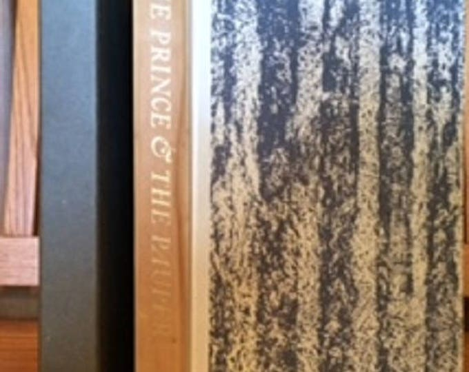 HERITAGE PRESS: Prince and the Pauper by Mark Twain 1964