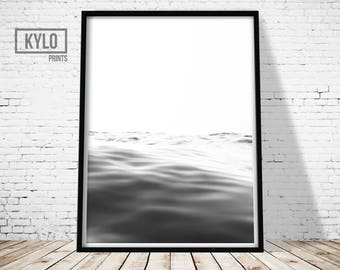 Ocean Print, Photography Print, Printable Art, Wall Art, Nature Art, Home Decor, Ocean Wall Art, Instant Download, Sea Print, Ocean Waves