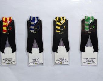 Harry Potter bookmarks- Slytherin