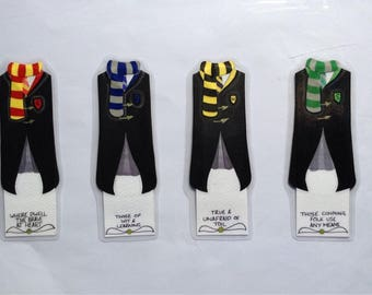 Harry Potter bookmarks- Hufflepuff