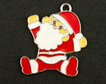 Large charm / pendant Santa Claus