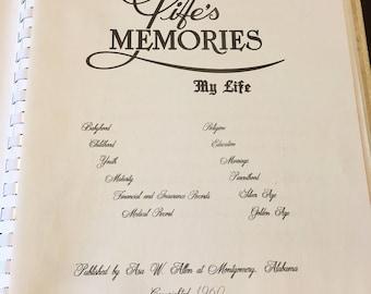 Life's Memories Book 1960
