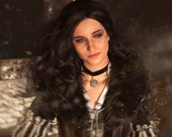 Yennefer Cosplay Print with signature. The Witcher 3: Wild Hunt.