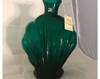 Amazing Blenko Alpine 9106 Shell Vase