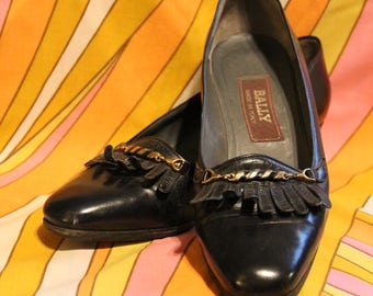 Vintage Bally High Heel Pumps