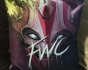 FWC Future War Cult Faction Destiny Decorative Art Pillow | Playstation | Xbox | Gaming