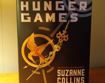 Hunger Games Book Clock