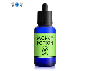 MONEY POTION - Magical Money Potion, Real Money Potion, Witchcraft Potion, Magic Potion, Abundance Potion, Organic Herbs