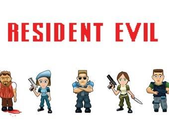 Resident Evil Poster/Print