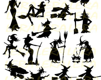 60 off halloween svg witch svg witch clipart halloween witch silhouette - Halloween Which