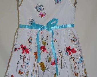 Sequin 4t cotton summer dress