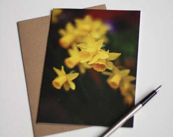 Note card // Thank you // Flower // Original photography