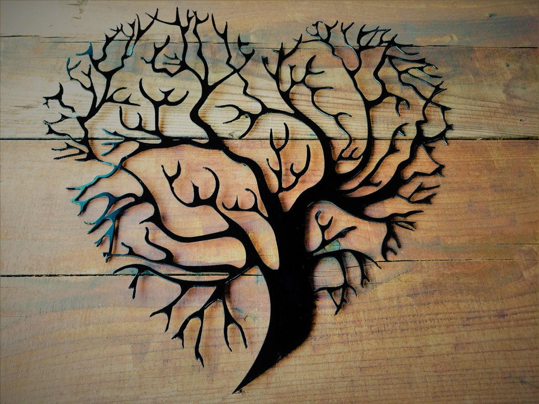 Metal Tree Of Life, Metal Tree Wall Art, Tree Wall Decor, Tree Wedding  Guest Book, Metal Family Tree, Metal Tree Wall Art, Metal Wall Art