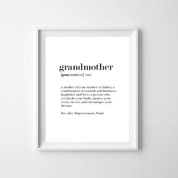 A grandmother is typically someone that makes you feel love or supported. You may dream about her when you are in deep need of these feelings, or you may also have these dreams because you eel happy, loved and supported in your waking life.