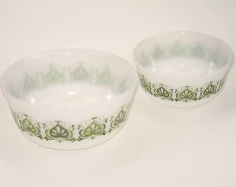 """Vintage 70s bowls by """"SCHOTT MAINZ"""""""